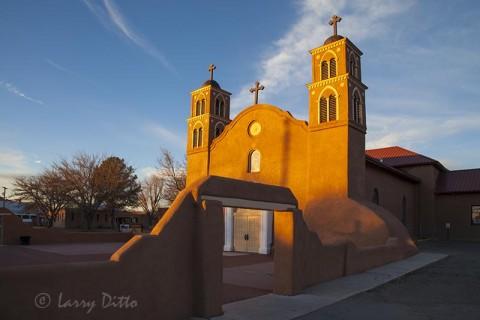 San Miguel Mission, 400 year old, Socorro, NM