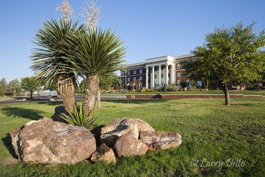 Sul Ross University campus at Alpine, Texas