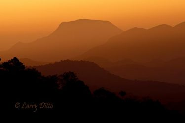Davis Mountains, Texas sunrise
