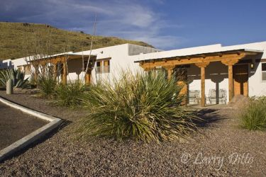 Indian Lodge at Davis Mountains State Park, west Texas in Davis Mountains