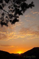 sunrise at Davis Mountains State Park, Texas