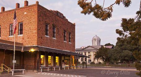 Fort Davis, Texas at sunrise