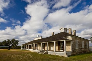 Hospital at historic Fort McKevett west of Menard, Texas