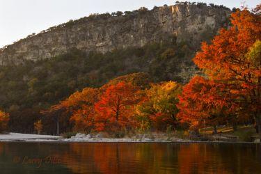 Garner State Park in autumn, Leaky, Texas