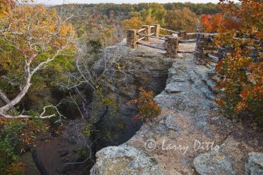 Overlook on Lake Mineral Wells at Lake Mineral Wells State Park
