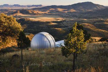 Telescope at McDonald Observatory, Davis Mountains, west Texas