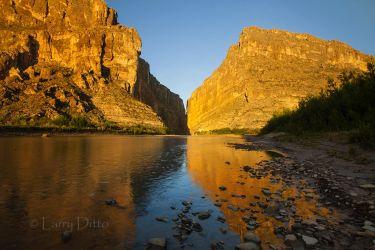 Big  Bend National Park at Santa Elena Canyon